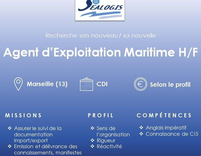 agent exploitation maritime sealogis